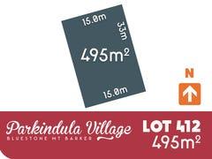Lot 412, Cheriton, Mount Barker