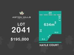 Lot 2041, Hayle Court (Aston Hills), Mount Barker