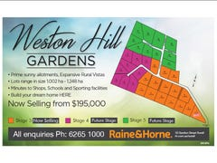 Lot 2 Weston Hill Gardens (off Weston Hill Road), Sorell, Tas 7172