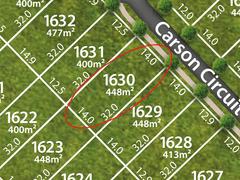 Lot 1630, Carson Circuit, Mango Hill