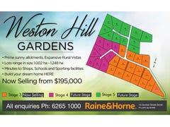 Lots 1-35 Weston Hill Gardens (off Weston Hill Road), Sorell, Tas 7172