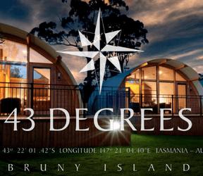 43 Degrees Bruny Island, 1 1 Lumeah Rd, Adventure Bay, Tas 7150