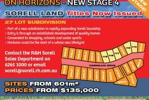 Stage 4 'On Horizons', Cornelius Drive, Sorell, Tas 7172