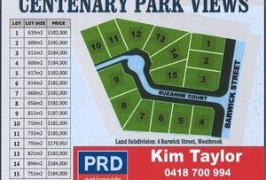 Lot 3 Centenary Park Views, Westbrook, Qld 4350
