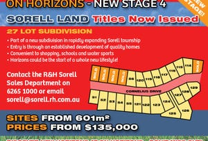Lot 120 'On Horizons', Cornelius Drive, Sorell, Tas 7172