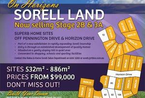 2B & 3A On Horizons, Sorell, Tas 7172
