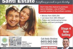 Lot 294 Santi Estate, Madeley, WA 6065