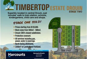 Stage Two Timbertop Estate, Drouin, Vic 3818