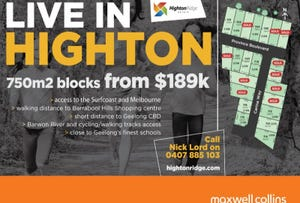 Stage 7 Highton Ridge Estate, Highton, Vic 3216