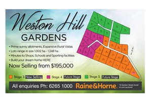 Lot 6 Weston Hill Gardens (off Weston Hill Road), Sorell, Tas 7172