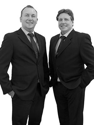 Ben Kerrisk and Mick McLeod