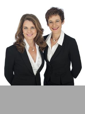 Liz Sharpe and Lisa Parker