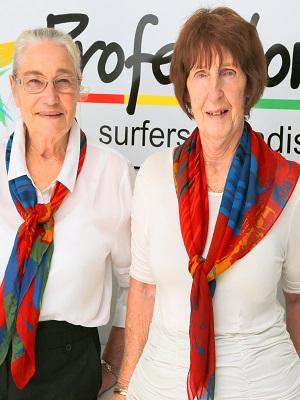 Patty Sinnamon and Adele Drennan