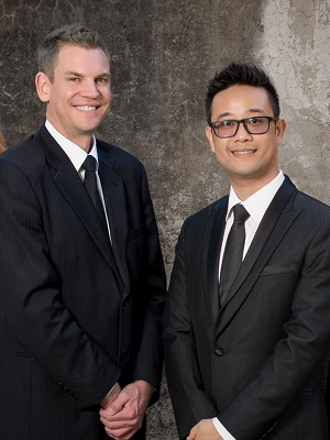 DANIEL WONG & BRETT NEESON from Artha Property Group - Brisbane