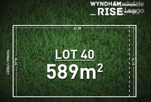 Lot 40 Wyndham Rise Estate, Clifton Springs, Vic 3222