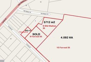 7 & 15 Forrest Street & 9 Old Station Street, Cressy, Vic 3322