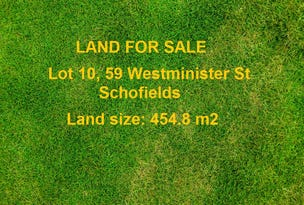 Lot 10, 59 Westminister Street, Schofields, NSW 2762