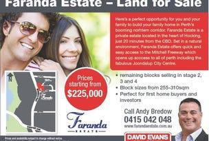 Lot 26 Faranda Estate, Hocking, WA 6065