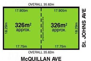 Lots 1&2/2 St Johns Avenue, Renown Park, SA 5008