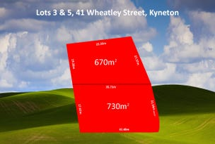 Lots 3 & 5, 41 Wheatley Street, Kyneton, Vic 3444