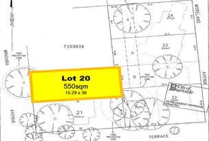 Lot 20 Morland Avenue, Stonyfell, SA 5066