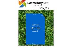 Lot 86  Canterbury Lara Estate, Lara, Vic 3212