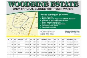 L  2-11, 16-22 Woodbine Road, Bungundarra, Qld 4703
