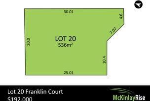Lot 20 Franklin Court, Hewett, SA 5118