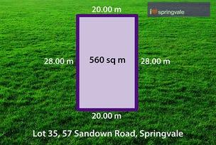 57 (Lot 35) Moishe Circuit, Springvale, Vic 3171