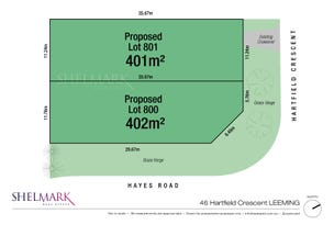 Lot 801, 46 Hartfield Crescent, Leeming, WA 6149