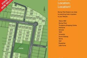 Murray Park Estate, Thurgoona, NSW 2640