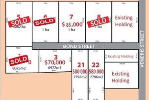 Lot 3, 4, 6, 7, 21, 22, Bond Street, Lockhart, NSW 2656
