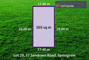 Lot 29, 57-59 Sandown Road, Springvale, Vic 3171