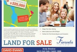 Lot 86 Faranda Estate, Hocking, WA 6065