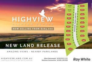 Stage 41 Highview Estate, Highton, Vic 3216