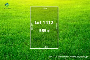 Lot 1412, 36 Burnham Crescent, Keysborough, Vic 3173