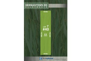 Lot 7, 40 Germantown Road, Lewiston, SA 5501