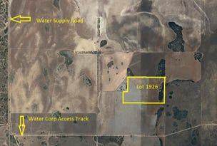 Lot 1926 Wye Farm/Water Supply, Yardarino, WA 6525