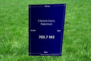3 Serene Court, Pakenham, Vic 3810