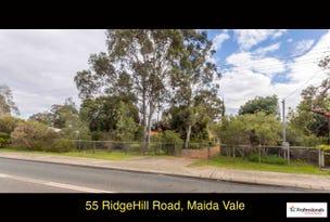 55 Ridge Hill Road, Maida Vale, WA 6057