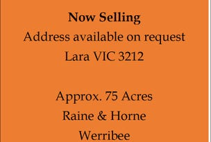 Lara, address available on request
