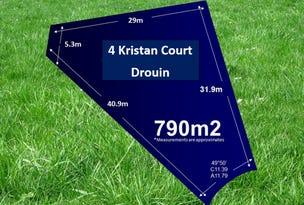 4 Kristan Court, Drouin, Vic 3818