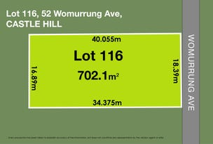 52 Womurrung Avenue, Castle Hill, NSW 2154