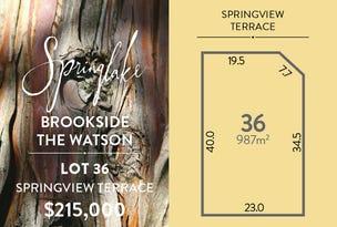 Lot 36 Springview Terrace, Mount Barker, SA 5251