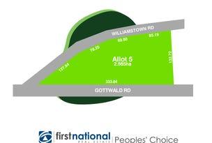 Lot 5 Williamstown Road, Williamstown, SA 5351