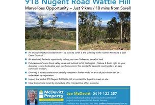 Lot 15, 918 Nugent Road, Wattle Hill, Tas 7172