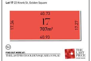 Lot 17, Brooklyn Avenue, Golden Square, Vic 3555