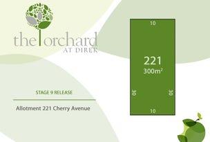 Lot 221 Cherry Avenue, Direk, SA 5110