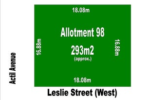Lot 98, 1a Leslie Street (West), St Clair, SA 5011