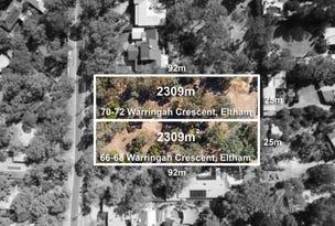 66-68 Warringah Crescent, Eltham North, Vic 3095